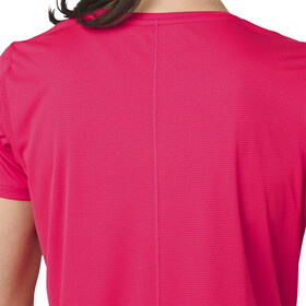 asics Silver Koszulka rowerowa z krótkim rękawem Kobiety, pixel pink